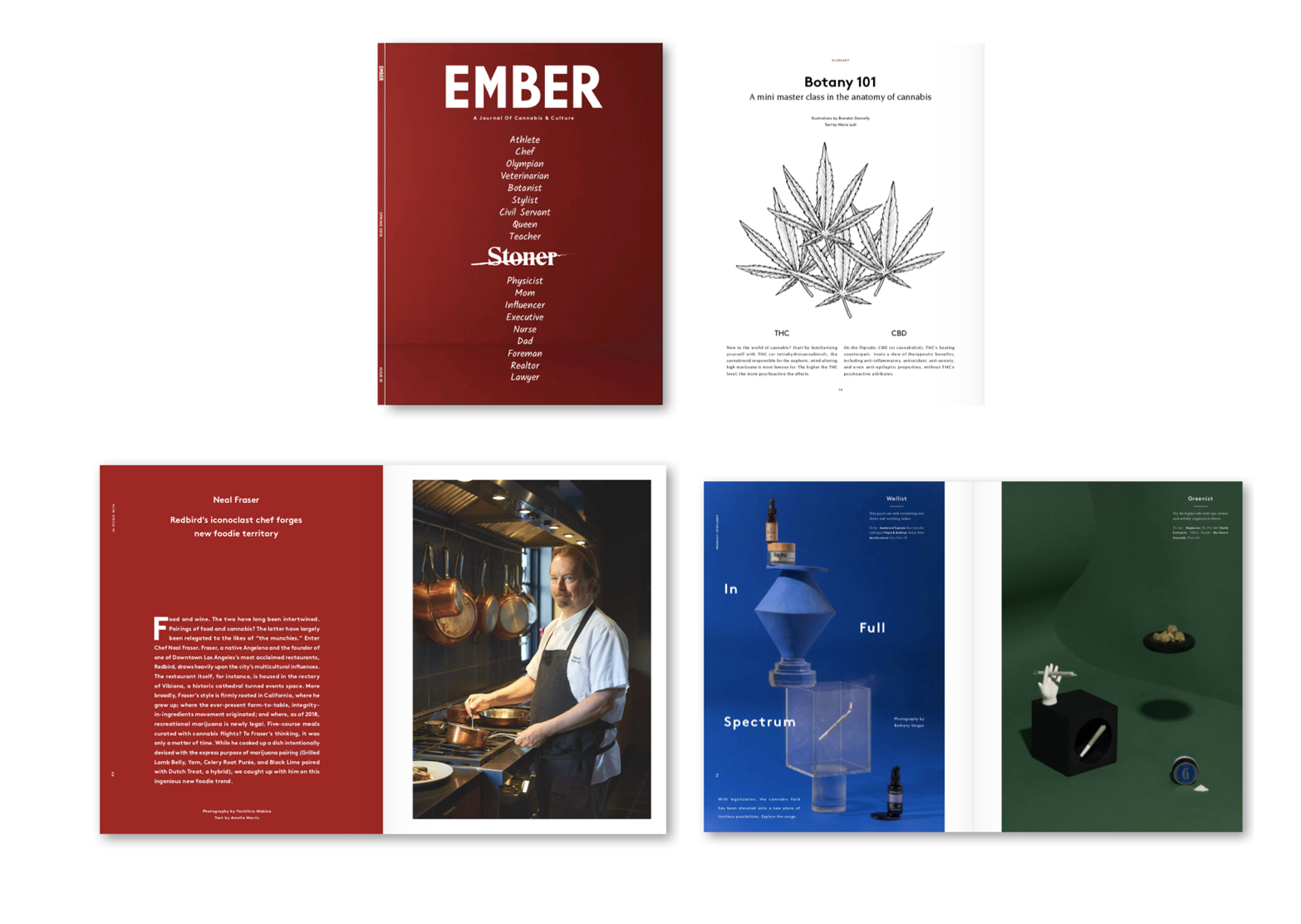 New Print Magazine EMBER Shifts Cannabis Conversation | AdStasher