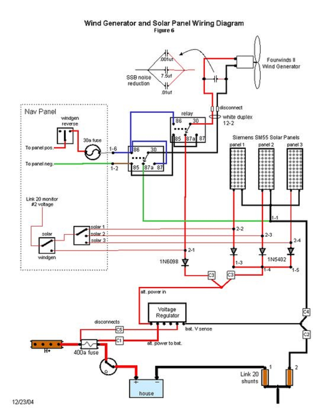 Wind Turbine Generator Wiring Diagram Ge Profile Refrigerator Parts Electrical And Electronics Engineering Powered