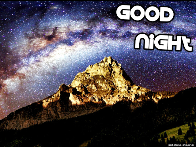 Good night images mountains