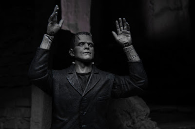 NECA Universal Monsters Ultimate Frankenstein's Monster Black and White Action Figure