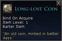 Lotro tier 8 essences long lost coin