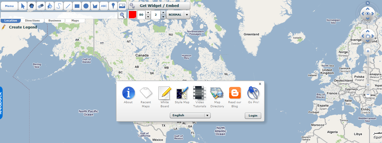 Scribble Maps - Draw on and customize Google Maps without even