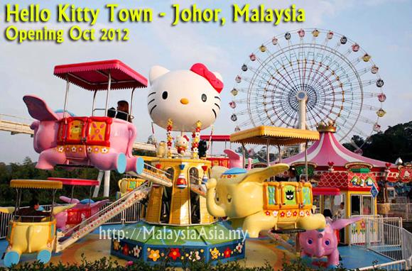 ab5c18484 Hello Kitty Town Johor - Malaysia Asia Travel Blog
