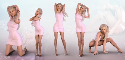 Z Visions of Beauty - Poses and Partials for Genesis 3 and 8 Female