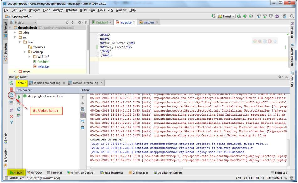 Tricks for Better Software: IntelliJ IDEA Application Server