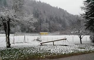 عودة الثلوج إلى النمسا