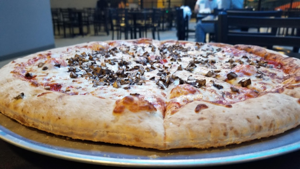 pizza at allegiant nonstop