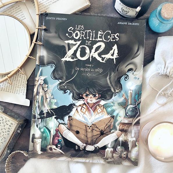 Les sortilèges de Zora - t1 - Une sorcière au collège