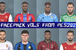 Exclusive Facepack Vol.5 For - PES 2019