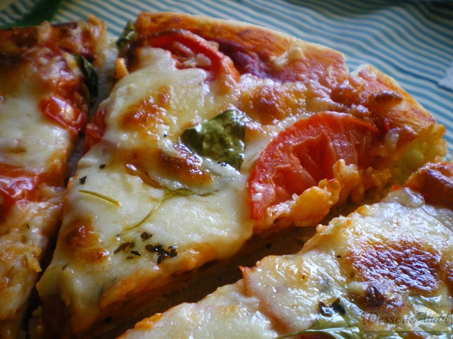 Pizza margherita {Pizza Margarita}