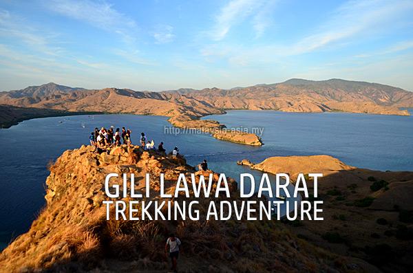 Hiking Trekking Gili Lawa Darat Island