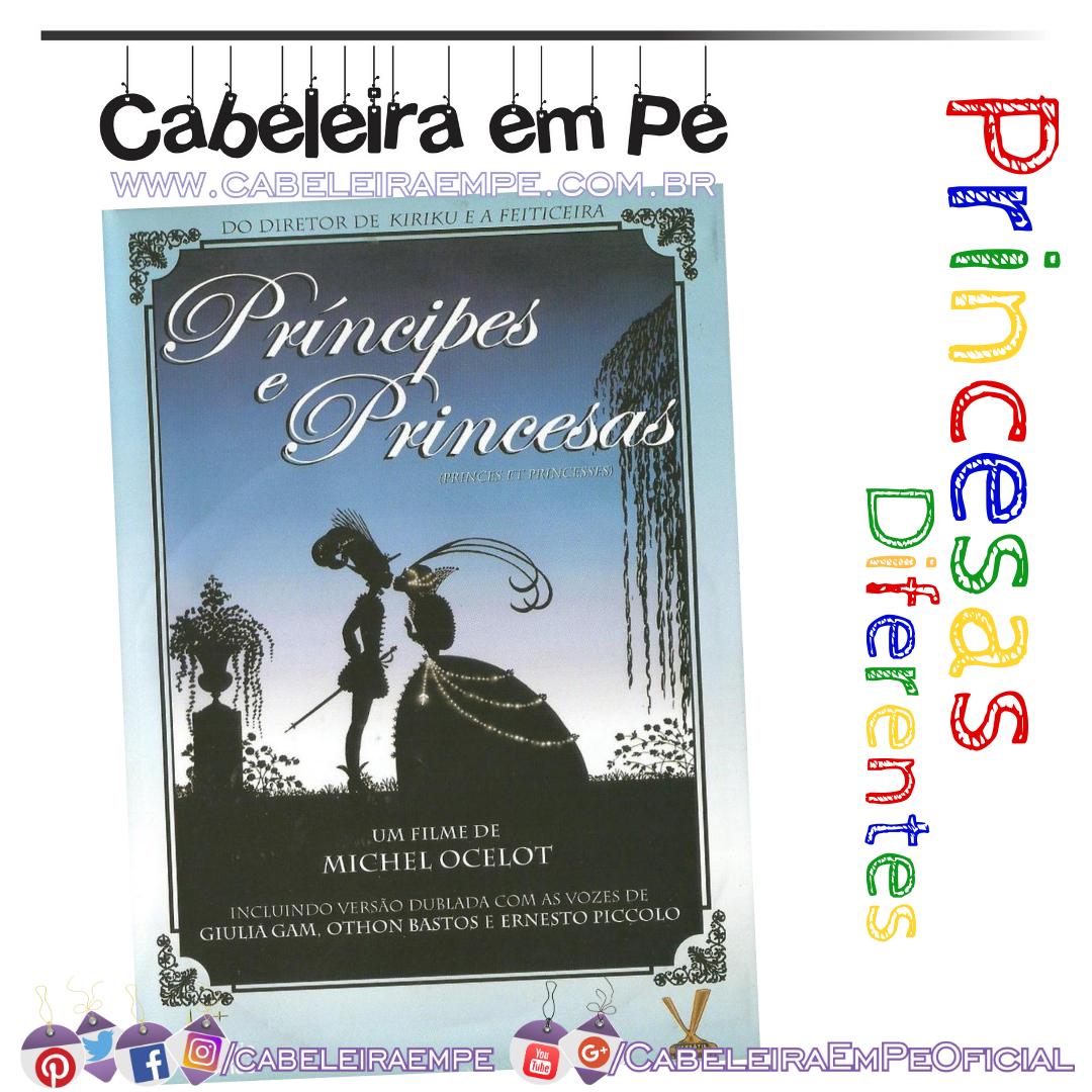 Principes e Princesas - Michel Ocelot (Desenho Animado) - histórias de Princesas e Príncipes de países diferentes