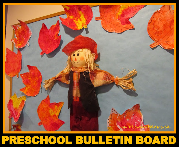 Preschool Fall Tree Bulletin Board