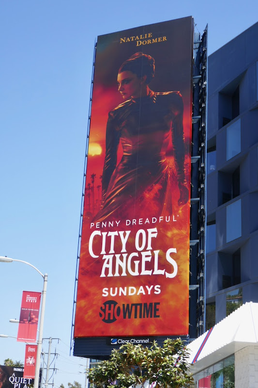 Natalie Dormer Penny Dreadful City of Angels billboard