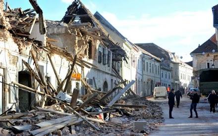 Σεισμός στην Κροατία: Νέα δόνηση 4,9 Ρίχτερ – Στους 7 οι νεκροί