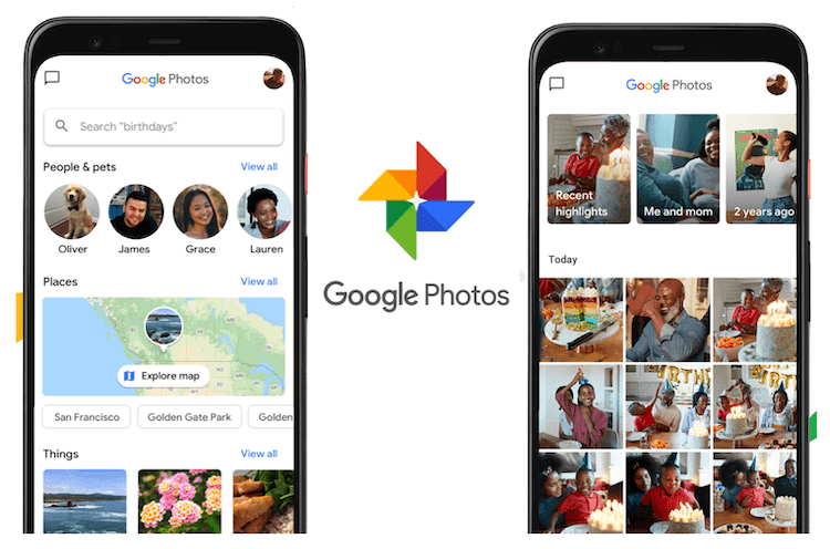 Google Photos Updated With New Interface, Map View, Icon And Memory Section