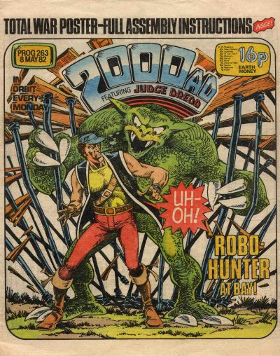 2000 AD Prog 263, Robo-Hunter