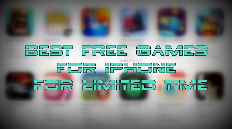 Best free games for iPhone. iPad and iPod touch - 4th March 2016 - iMangoss