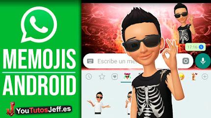 Tener Nuevos Stickers MEMOJI WHATSAPP iOS 13 en Android👏😍