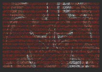 Darth Vader Portrait Made From The Original Star Wars Script Image The Geek Twins