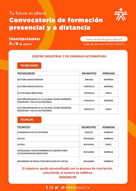 hoyennoticia.com, El SENA abrió la Convocatoria de Formación Presencial y a Distancia