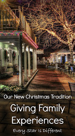 Our New Christmas Tradition-Giving Family Experiences