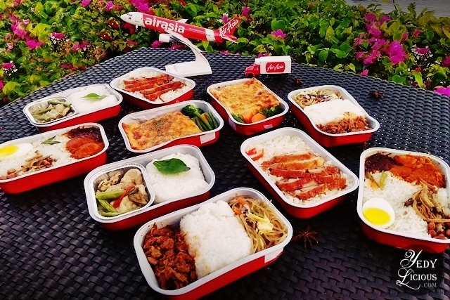 A love affair with airasia in flight meals yedylicious for Airasia japanese cuisine