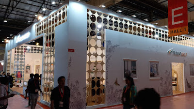 Trident group exhibition- sconce global