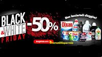 Black & White Friday : prodotti di Casa Henkel per capi bianchi e neri scontati del 50%