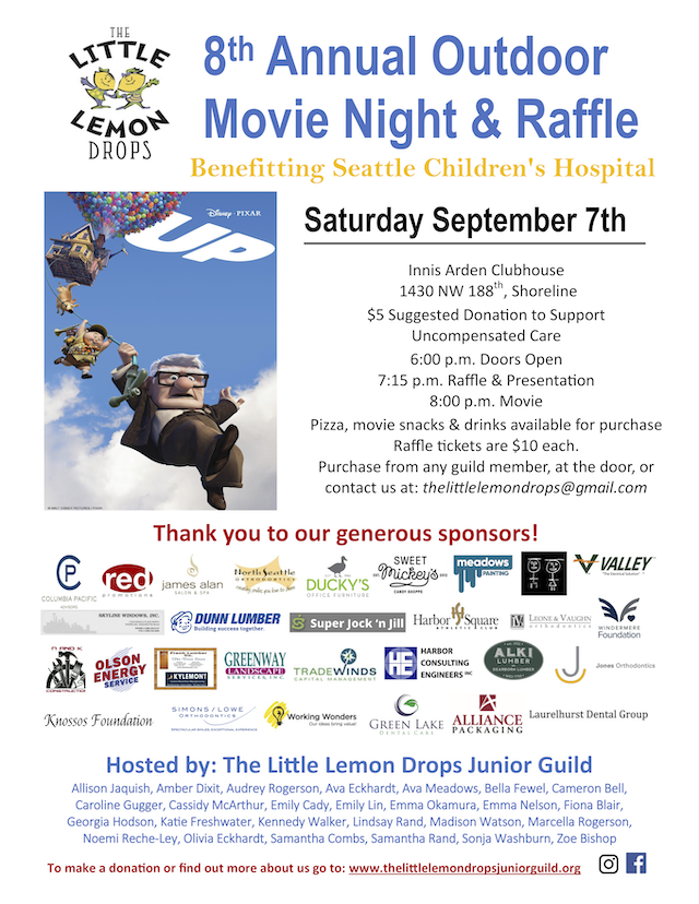 Shoreline Area News: Reminder: Outdoor Movie Night and