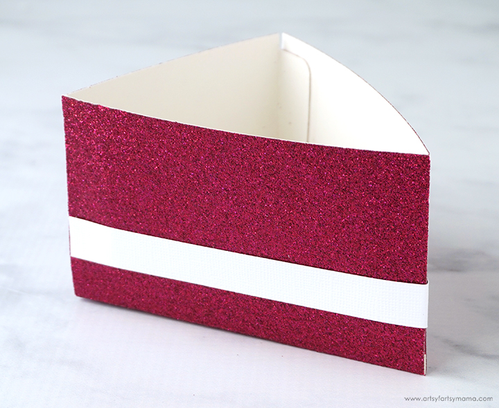 DIY Birthday Cake Box Bottom