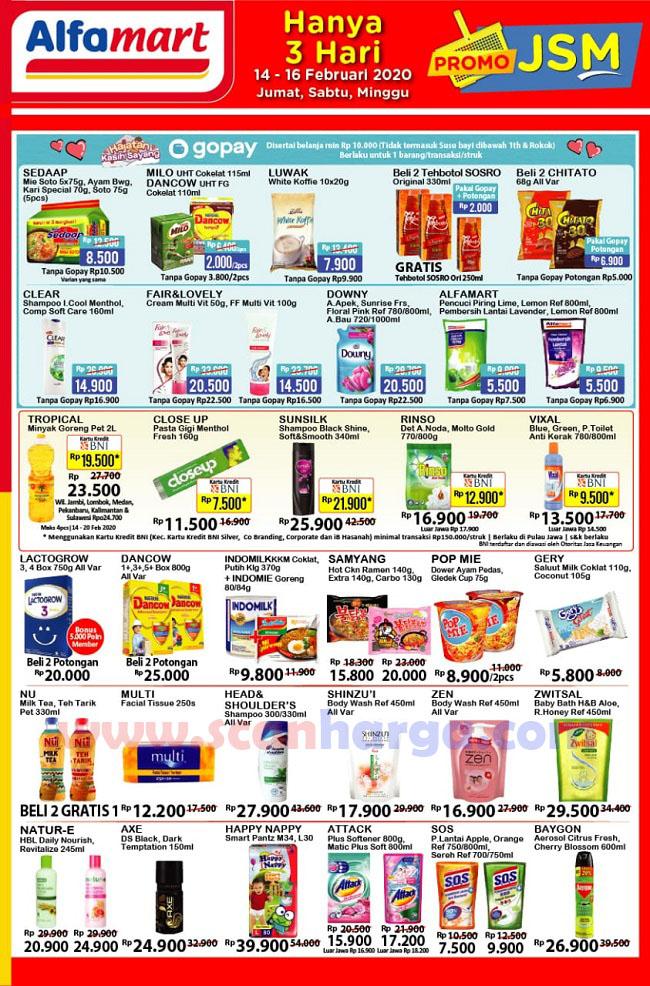 25 List Produk Promo Alfamart Hari Ini Jsm 6 8 Maret 2020 Scanharga
