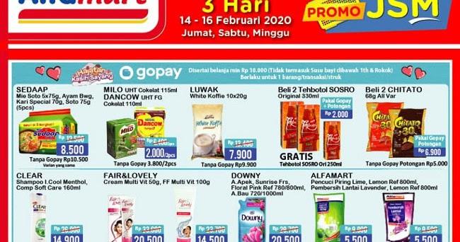 25 List Produk Promo Alfamart Hari Ini: JSM 6 - 8 Maret