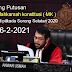 MK menolak perkara Perselisihan Hasil pilkada Sorsel 2020 :Selasa 16 Februari 2021