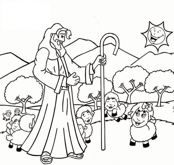 Dibujos De Jesus Para Colorear Para Ninos Imagesacolorierwebsite