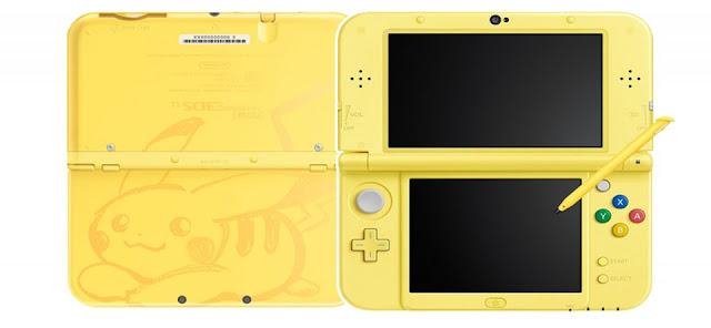 New Nintendo 3DS XL edición Pikachu llegará a Japón
