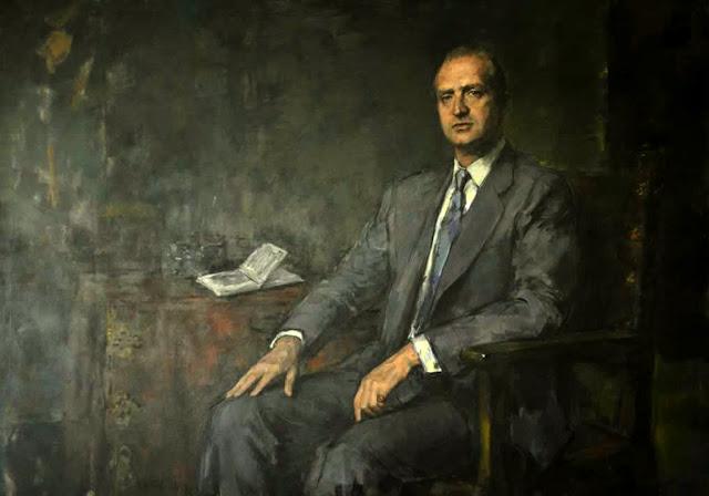 Ricardo Macarrón, Retratos de Juan Carlos I, Retrato del Rey, Juan Carlos I, Retratos de Ricardo Macarrón, Retratista español, Pintores de Madrid, Retrato Oficial, Felipe VI, Retrato de  Felipe VI