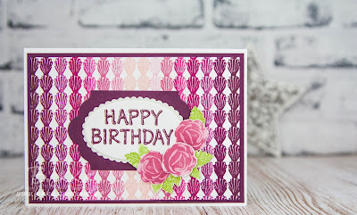 Icing On The Cake - A Birthday Card made with Stampin' Up! UK Supplies which you can buy here