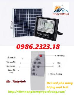 Đèn led pha 150w năng lượng mặt trời,đèn chiếu sáng năng lượng mặt trời