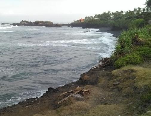 Pantai Mengening Cemagi Mengwi Badung, Mengening Black Sand Beach