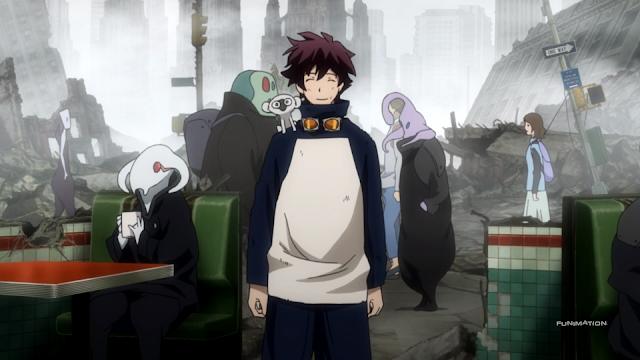 Blood Blockade Battlefront anime