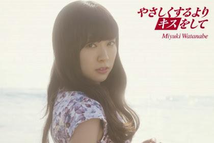 [Lirik+Terjemahan] Watanabe Miyuki - Yasashiku Suru Yori Kiss wo Shite (Daripada Berbuat Baik, Ciumlah Aku)