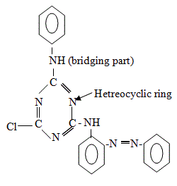 Chemical Structure of Reactive Dyes | Commercial Names of Reactive