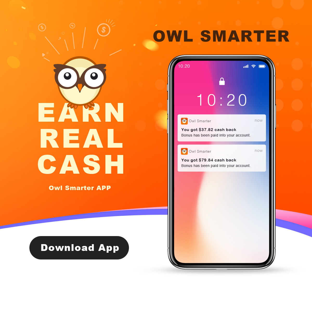 OwlSmarter - Shop & Cash Back