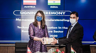 MoRTH Signed MoU With Austria