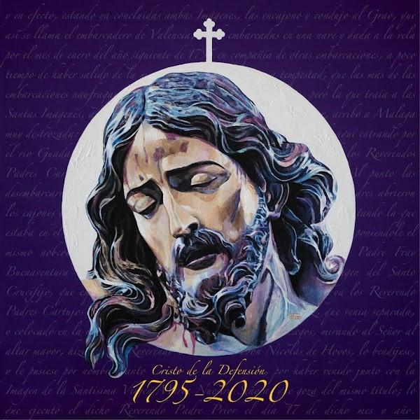 Presentado el cartel conmemorativo de la llegada del Cristo de la Defensión a Jerez