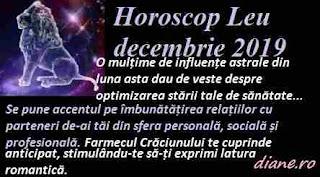 Horoscop decembrie 2019 Leu
