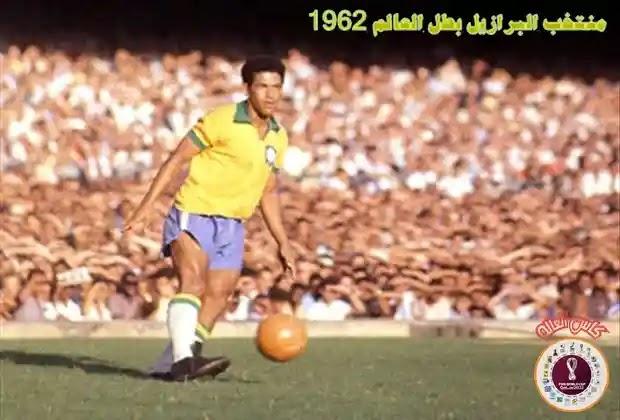 غارينشيا,منتخب البرازيل,بيليه,كاس العالم 1962