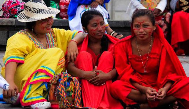 Wayuus participaron en Feria de Inclusión Productiva