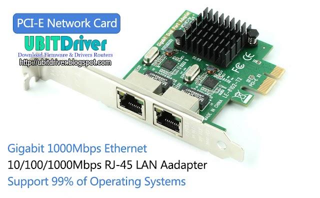 Ubit Drivers 8102-T2 Gigabit Ethernet PCI-E Network Card